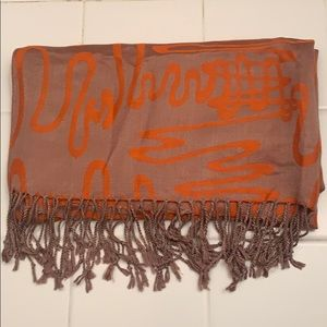 100% Cashmere Scarf with Sheen